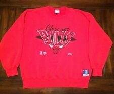 NBA Basketball Chicago Bulls Nutmeg Mills Sweatshirt Adult XL