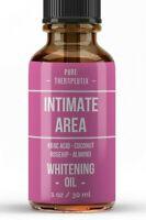 Intimate Area Skin Whitening Bleaching Serum Cream Vaginal Anal Lightening Oil