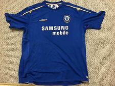 Umbro Xstatic soccer football club Chelsea samsung 100 years JERSEY (size 3xl