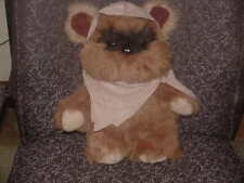 "14"" Wicket The Ewok Plush Toy From 1983 Star Wars By Kenner Very Nice"