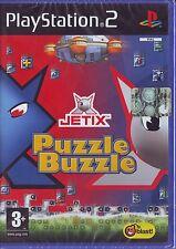 JETIX PUZZLE BUZZLE (2007) PS2 PAL ITA ORIGINALE NUOVO SIGILLATO