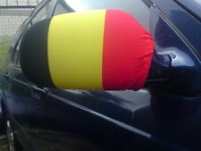CAR WING MIRROR SOCKS FLAGS, COVERS, FLAG-UPS!  - BELGIUM BELGIAN