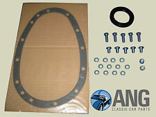 TRIUMPH TR5, TR6 ENGINE TIMING CHAIN COVER OIL SEAL, GASKET & BOLT KIT