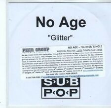 (BQ491) No Age, Glitter - DJ CD