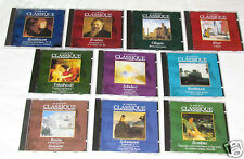 AU COEUR DU CLASSIQUE (Great Composers) 10 CD SET COLLECTION Classical BRAHMS+