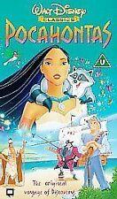 Pocahontas (VHS, 2000) walt disney vhs video tape