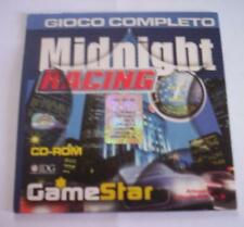 MIDNIGHT RACING gioco pc originale completo corse