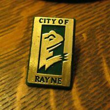 City Of Rayne La Lapel Pin - Vintage Louisiana Usa Frog Festival Amphibian Badge