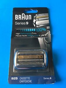 Braun 92S Series 9 Electric Shaver Replacement Foil & Cassette - Made in Germany