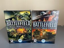 LOT Battlefield 1942 & Road to Rome EA Sports PC Game Shooter War