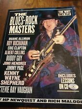 BLUES ROCK MASTER  GUITAR THE WAY THEY PLAY BOOK AND CD