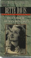 BETTE DAVIS - (2 TAPES) -  HELL'S HOUSE (1932) HUMAN BONDAGE (1934)