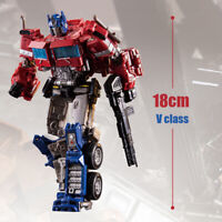 New SS38 Optimus Prime Transformers 7in Alloy Level V Action Figure Kid Gift Toy