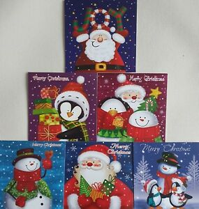 20 Children Kids Christmas Cards Premium Quality School Cards with Envelopes