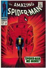 Amazing Spider-Man #50 Facsimile Reprint Cvr Only w/Original Ads Key 1st Kingpin