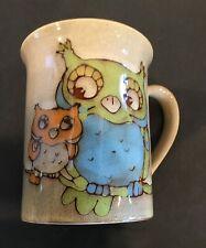 Owl Ceramic Beverage Mug
