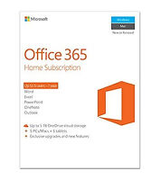 Microsoft Office 365 Home 1 year(s) English - 6GQ-00684