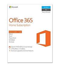 Microsoft Office 365 Home 1 year(s) English - 6GQ-00684