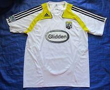 Columbus Crew USA SOCCER Training shirt jersey ADIDAS 2008 MLS men/adult SIZE L