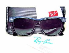 "RAY-BAN *NOS VINTAGE B&L *RARE Ltd. WAYFARER II ""Electric Blue"" *NEW SUNGLASSES"