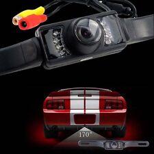 Car Rear View Backup Camera 8 IR Night Vision License Plate Frame Camera CMOS LN