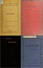 120 OLD BOOKS ANIMAL MAGNETISM MESMERISM HOMOEOPATHY SOMNAMBULISM SPIRITUAL DVD