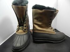 Men's Sorel Kaufman Winter Boots Size 7; Made in Canada