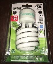 Ecobulb Softwhite Feit 100 watt Electric Energy Star 10,000 Hours Lasts 9 Years