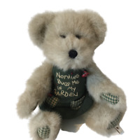 Boyds Bears Potsley Nothing Bugs Me In My Garden Plush Thinkin' Of Ya 8 Inches