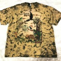 Vallarta Blue MA Strum T Shirt 2-Col Compass Print Tee
