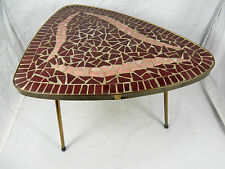 Forma Bella 50´s design mosaico tavolo grondaie/Mosaic side table 29,5 cm