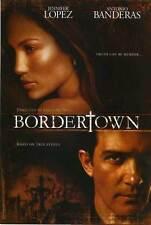 BORDERTOWN Movie POSTER 27x40 B Jennifer Lopez Antonio Banderas Kate del illo