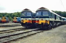 PHOTO  MEARHEAD. FOSTER YEOMAN DEPOT. 2 X 59S OUTSIDE. 2001