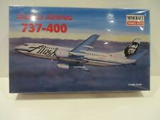 Minicraft  1 144 Boeing 737-400 Alaska Airlines  New and Unstarted ( kit32 )