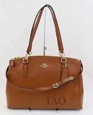 Coach Crossgrain Leather Large Christie Saddle Carryall Bag Handbag F57525 36606