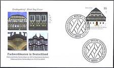 FRG 2011: Timber frame construction in Hartenstein! FDC the No.1 2862! Berlin