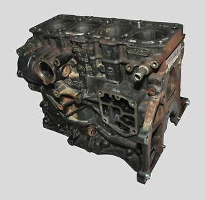 VW Passat 3C Original 2,0TDI 103KW Zylinderblock Kurbelgehäuse 03G103011R BMP