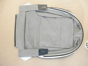 Audi A3 Seat Cover Right Leather Platinum Light 8P0881406E NFP New Part Of