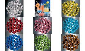 200g Glorex GlasNuggets Farbmix Farbwahl Muggelsteine Glassteine Glas-Nuggets