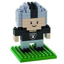 Oakland Raiders BRXLZ Team Player 3-D Puzzle Construction Toy New - 89 Pieces