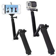 3 Way Hand Grip Arm Stick Selfie Tripod Mount Monopod for GoPro Hero 3+ 4 2