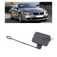 Primed Front Bumper Tow Eye Hook Cover Cap For BMW E90 E91 318i 320i 328i 330i