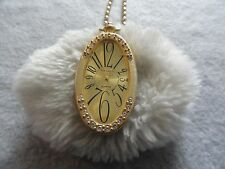 DeJuno Quartz Necklace Pendant Watch