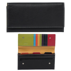 GABEE Pia Travel Document Leather Wallet - Teal  Products