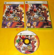 SUPER STREET FIGHTER IV 4 XBOX 360 Versione Mista 1ª Edizione ○○ COMPLETO - AI