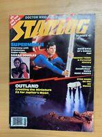 JUNE 1981 STARLOG MAGAZINE #47 SCI-FI - SUPERMAN II / GEORGE TAKEI / STAR WARS