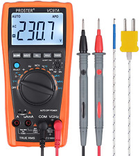 Proster Digital Multimeter 3999 Lcd Auto Ranging Multi Meter with Capacitance Dc