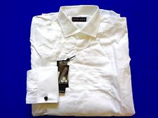 New Ralph Lauren Black Label 100% Cotton Tuxedo Front Dress Shirt SLIM sz 15