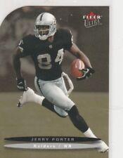 Jerry Porter Raiders 2003 Fleer Ultra Platinum Medallion SP 76/100