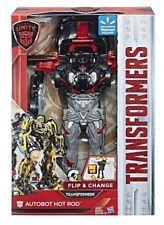 "New Hasbro TRANSFORMERS ""Autobot Hot Rod"" Toy Lot# EB"